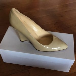 Kate Spade Patent Leather Wedge Made in Italy